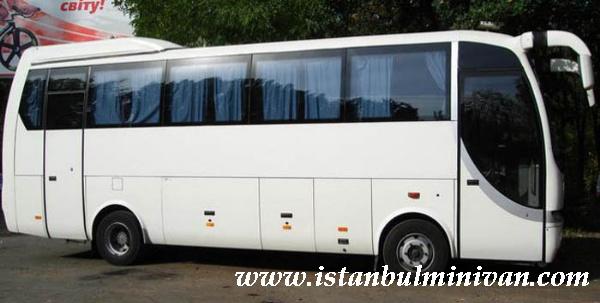 rental midi bus coach bus with driver istanbul turkey