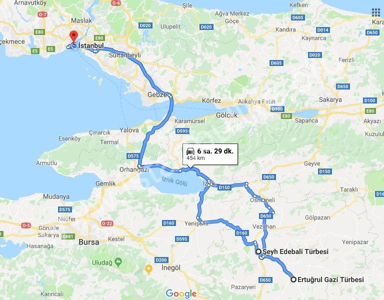 ertugrul ghazi tour visit sogut bilecik visit tour minivan istanbul