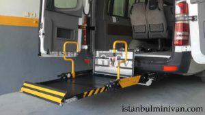 wheelchair access disabled minivan car rental istanbul turkey