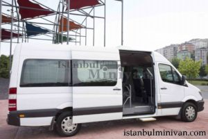 wheelchair acces disabled minivan car rental istanbul turkey