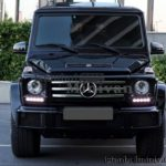 Rent a Mercedes G350 Suv in Istanbul turkey with driver