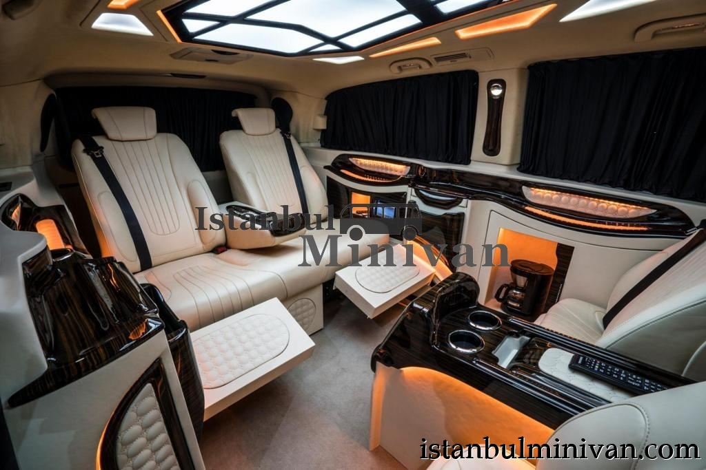 rent luxury vip mercedes vito viano with driver in istanbul